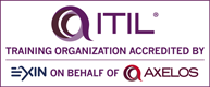 ITIL Training Organization EXIN Axelos