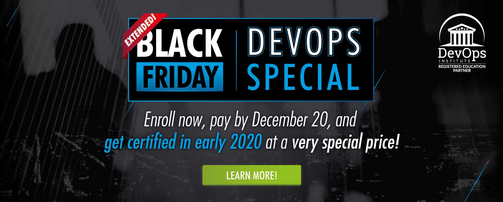 DevOps Black Friday Special Extended!