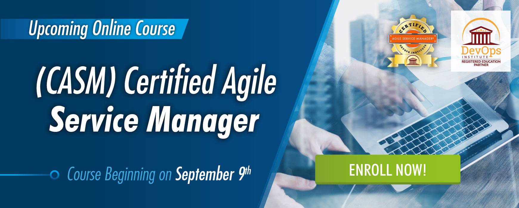 Certified Agile Service Manager September 9th