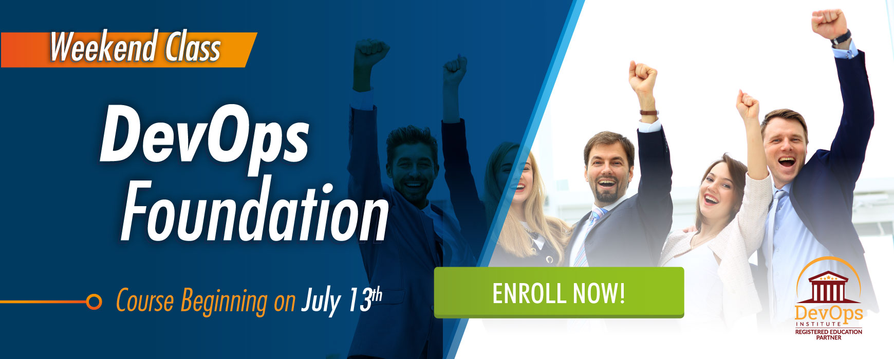 DevOps Foundation Certification Course Weekend Class July 13th - 14th