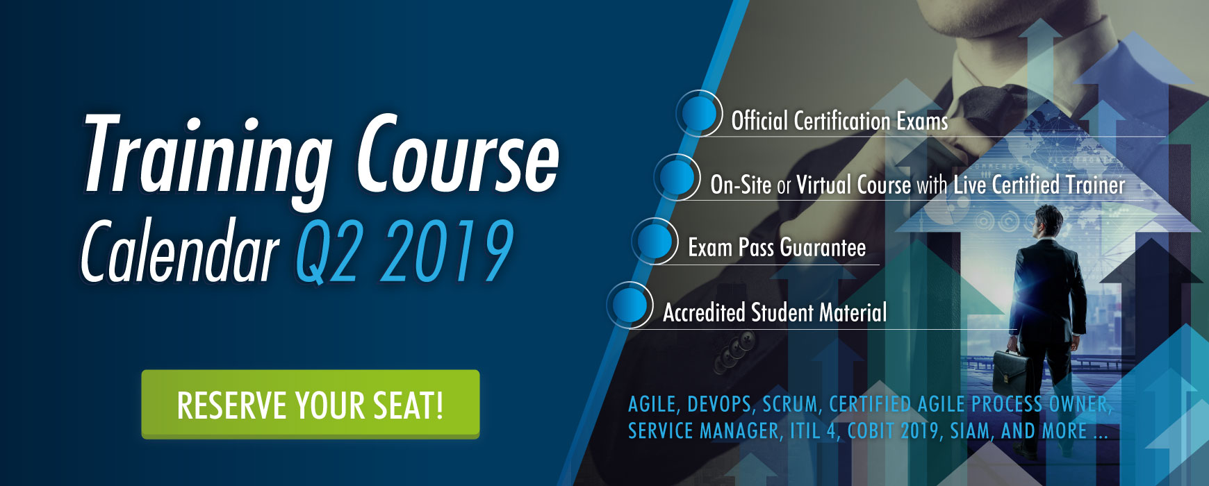 Training Course Calendar Q2 2019